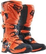 Fox Comp 5Y Youth Kids Motocross Boots Orange